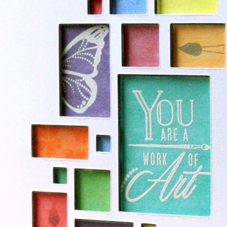 A Colorful Card, Picture Wall Style