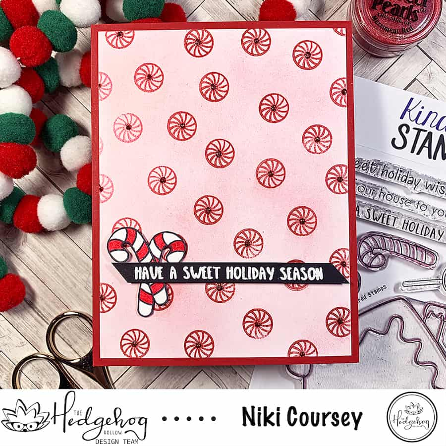 The Sweetest Holiday Card + Perfect Pearls