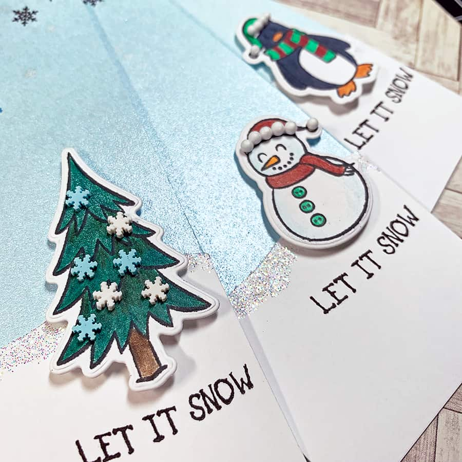 Paper Door: Tall Holiday Gift Tags