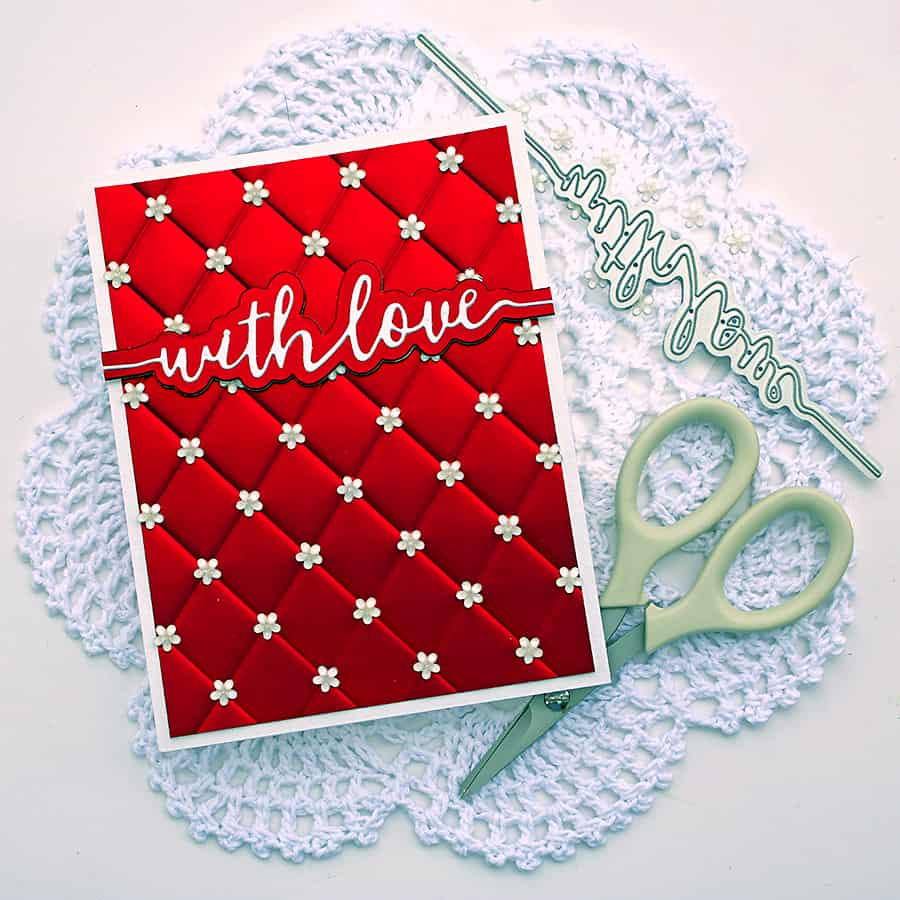 A Fast & Fun Valentine's Day Card + Craft Perfect Cardstock