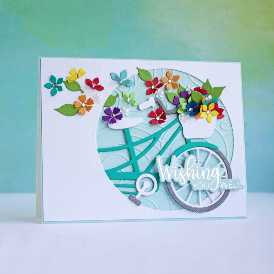 Pretty Inspiration: Spellbinders Large Die of the Month
