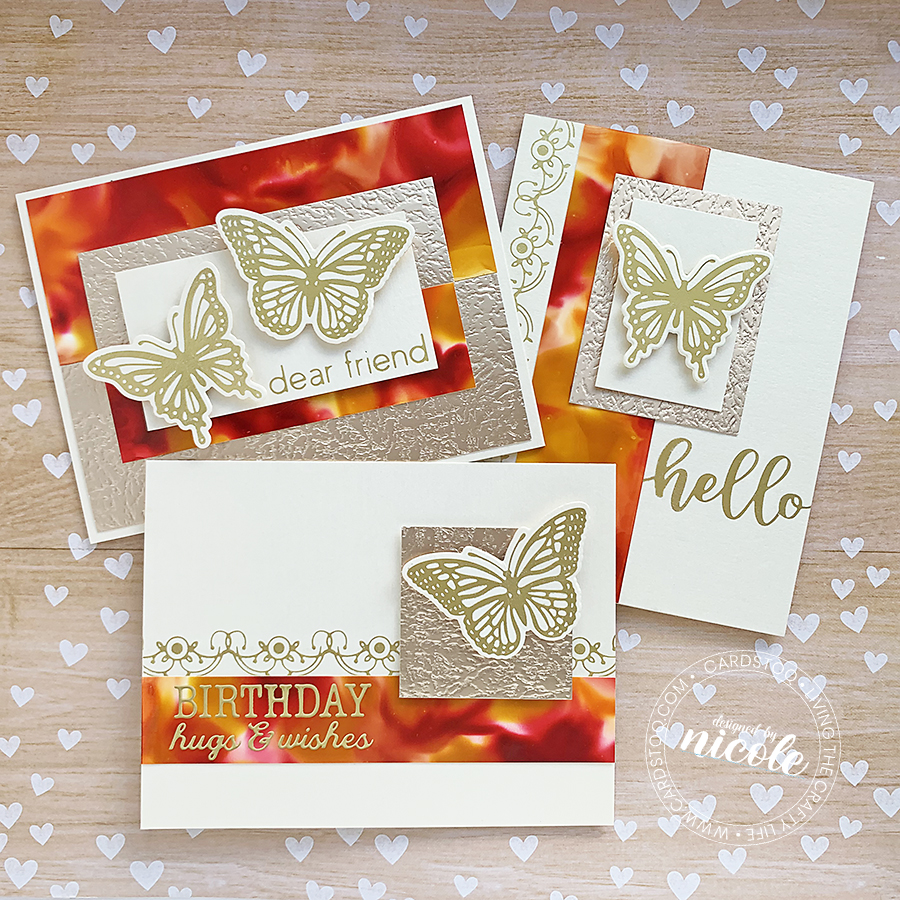 October Glimmer Plates Collection from Spellbinders!
