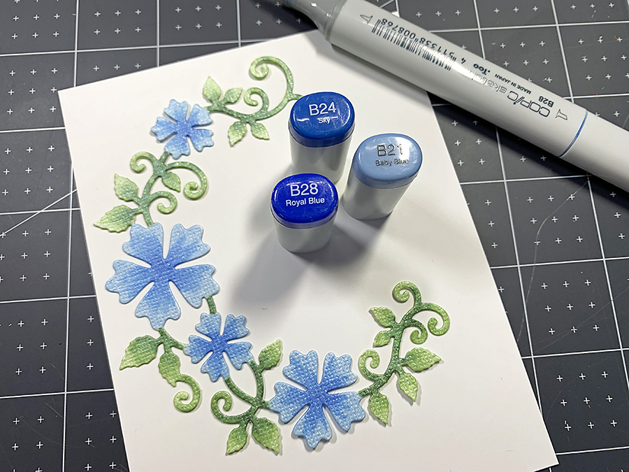 Blue Color Combo for Copics