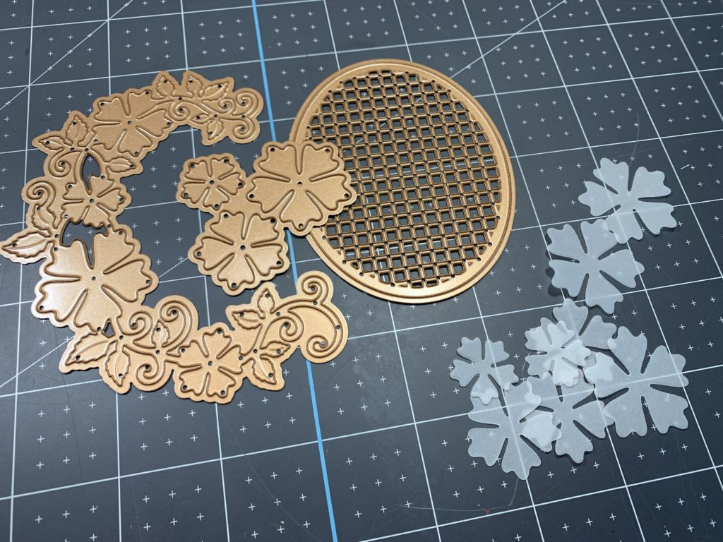 Floral Oval Die Set from Spellbinders