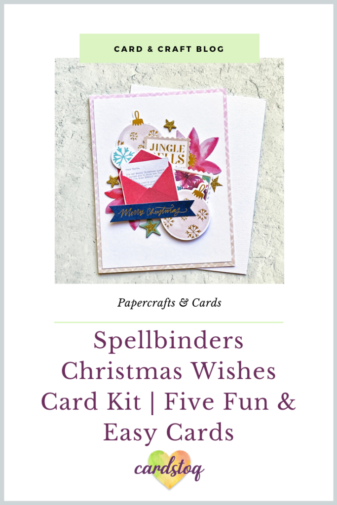 Spellbinders Christmas Wishes Card Kit | Five Fun & Easy Cards
