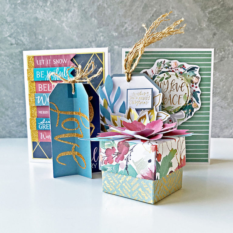5 Projects With the Spellbinders All Aboard 2021 Christmas Kit